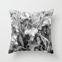 Colorless Throw Pillow