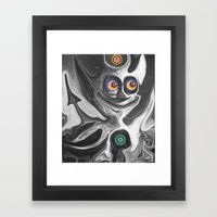 The Anomoly Framed Art Print