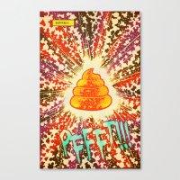 COSMIC POOP Canvas Print