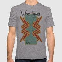TiXa - Wezteka Union - 3 of 3 Mens Fitted Tee Athletic Grey SMALL