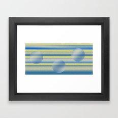 Spheres Framed Art Print