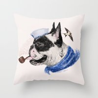 F.B.D Throw Pillow