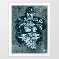 Big Puss Art Print