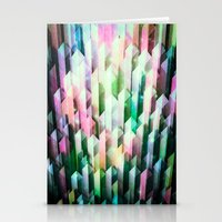 vivid quartz rising Stationery Cards
