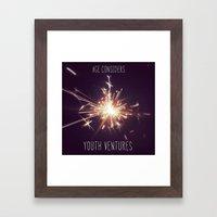 Fireworks Inspiration Framed Art Print