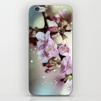 Cherry Blossom Dawn iPhone & iPod Skin