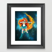 Sailor Brave Framed Art Print
