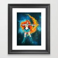 Sailor Brave Framed Art Print