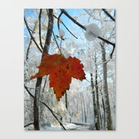 The Last of Autumn  Canvas Print