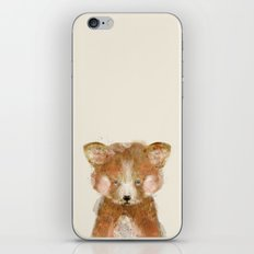 little red panda iPhone & iPod Skin