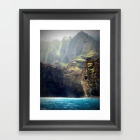 Na Pali Coast Framed Art Print