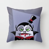 VAMPY Throw Pillow