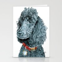 Whitney the Poodle Stationery Cards