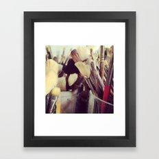 Paintbrush Heaven Framed Art Print