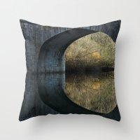 Eye Of The Bridge Throw Pillow