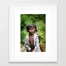08 kids Framed Art Print