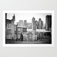 Living with the Past Art Print