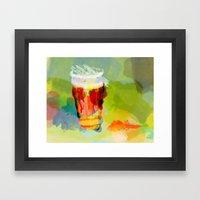 Draft IPA, 99pts Framed Art Print
