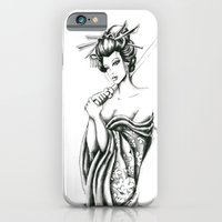 iPhone & iPod Case featuring Geisha by Luciana Perrina
