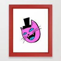 Herro Cat Framed Art Print