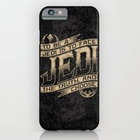 iPhone & iPod Case featuring To Be A Jedi by Grady