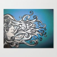 Whirl Wind  Canvas Print