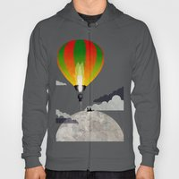 Picnic In A Balloon On T… Hoody
