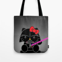 Dark Kitten Tote Bag