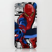iPhone & iPod Case featuring Spider-Man Comic by C Rhodes Design