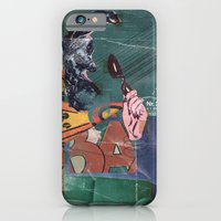 iPhone Cases featuring Secret Identity by Matthew Billington