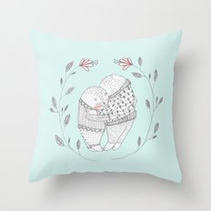love cat Throw Pillow