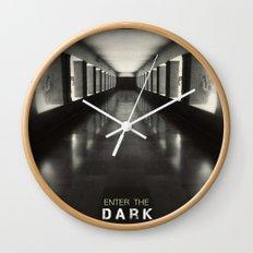 Enter the dark Wall Clock