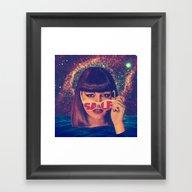 Framed Art Print featuring Sale! by Serra Kiziltas