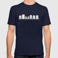 Jars Mens Fitted Tee Navy SMALL