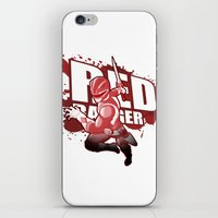Forever Red iPhone & iPod Skin