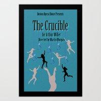 Crucible Art Print