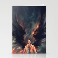 The Angel Of The Lord Stationery Cards