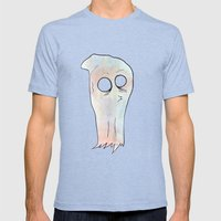Ghost Mens Fitted Tee Tri-Blue SMALL