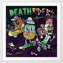 Death Riders Art Print
