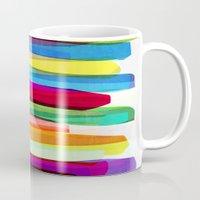 Colorful Stripes 1 Mug