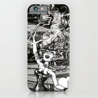 iPhone & iPod Case featuring Our Queen of Destruction by Minerva Mopsy