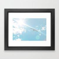 Aligned Framed Art Print
