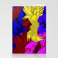 AUTOMATIC WORM 3 Stationery Cards