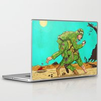 Laptop & iPad Skin featuring Carry by Lee Grace Illustration