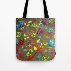 Butterflies-5 Tote Bag