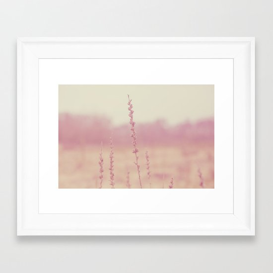 Dreamy Light  Framed Art Print