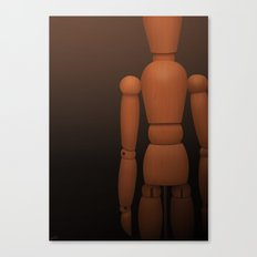 Wooden Man Canvas Print