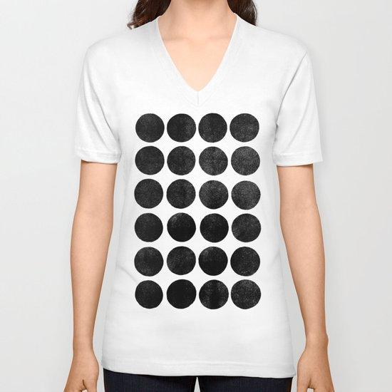 Colorplay Black V-neck T-shirt