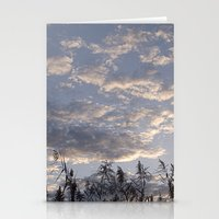 Fall Sky Stationery Cards
