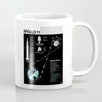 Apollo 11 Mission Diagram Mug
